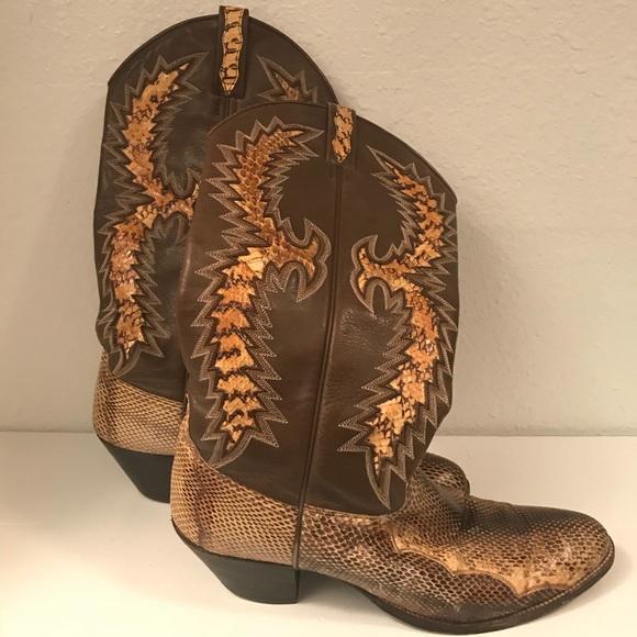 2d64d858a85 Dan Post Shoes - ⚡️FLASH SALE⚡️Dan Post Snakeskin Cowboy Boots